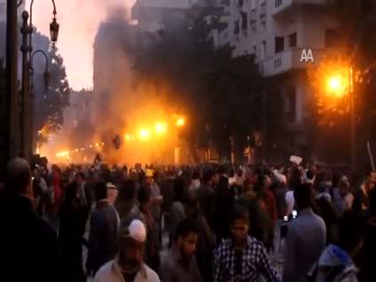 Kahire yangın yerine döndü!..