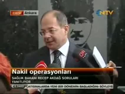Sağlık Bakanı Recep Akdağ'dan nakil açıklaması