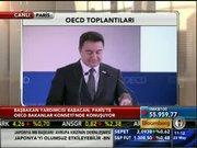 Ali Babacan OECD toplantısında konuştu