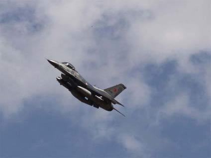 F-16'lar PKK kamplarını bombalıyor