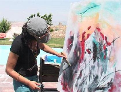 Kapadokya'da Uluslararası Sanat Kampı