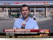 Askeri araçlar Suriye sınırına sevk edildi