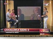 """""""Çakallarla Dans 2"""" ekibi Habertürk'te"""