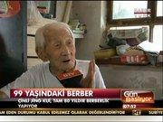 80 yıldır saç kesiyor