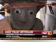 3000 yıllık, 1.5 tonluk ve iki gözü var!