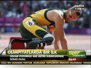 Oscar , olimpiyatlarda bir ilki başardı!