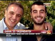 Sakık'ın oğlunun intiharı