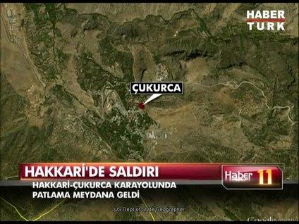Hakkari'de saldırı