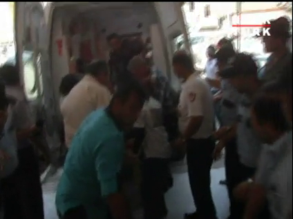 Yaralı askerler hastaneye getirildi!