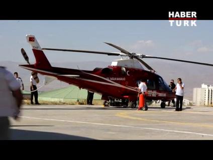 Yaralılar helikopterlerle taşınıyor!