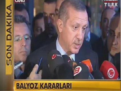 Başbakan'dan Balyoz açıklaması