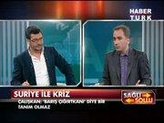 Koray Çalışkan canlı yayında Mustafa Akyol'a oyuncak tank hediye etti!