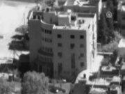 Hamas binası böyle vuruldu