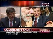 Dışişleri Bakanı Davutoğlu neden ağladı?