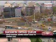 Taksim'in göleti oldu