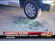 Yenibosna'da karakola saldırı