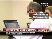 Twitter'dan derde derman