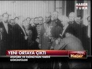 Hareketli görüntülerle Sultan Reşad, Vahideddin, Atatürk, İnönü, Menderes...
