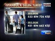 İstanbul'a turist yağıyor
