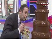 Çikolata Şelalesi imtihanı!