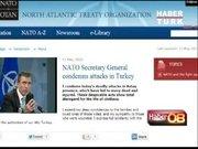 NATO,İngiltere ve ABD saldırıları kınadı