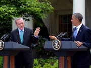 Erdoğan ve Obama gazetecilerin sorunularını yanıtlıyor