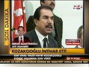 Hayri Kozakçıoğlu, intihar etti!