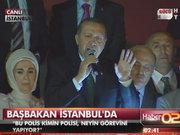 Erdoğan'a dev karşılama