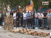Gezi Parkı'nda 2. Cuma namazı kılındı