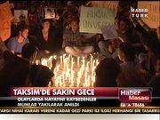 Taksim'de sakin gece