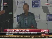 Başbakan Erdoğan 11. Türkçe Olimpiyatları'nda konuştu 2