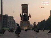 Taksim güvercinlere kaldı