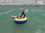 Saklıkent'te rafting heyecanı