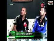 Roberto Carlos'u canlı yayında korkutan olay