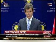 Bakan Davutoğlu'ndan flaş açıklamalar!