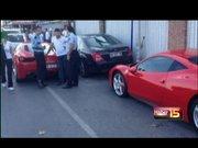 Ferrari sahteciliği kendini ele verdi
