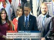 Obama konuşurken bayıldı!