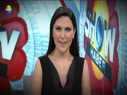 Ece Üner, Türkiye'nin haber merkezi Show Ana Haber'de!
