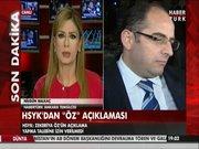 HSYK'dan Savcı Zekeriya Öz açıklaması