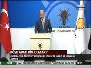 AK Parti'nin köşk adayını açıkladı