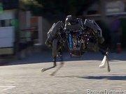 İlginç icat, koşabilen motorlu araç