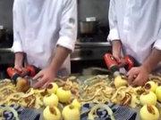 Matkapla elma nasıl soyulur?