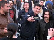 Okan Bayülgen ile selfie
