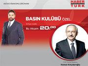 CHP lideri Kemal Kılıçdaroğlu Basın Kulübü Özel'de