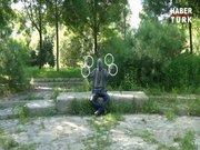 Gözü kapalı jonglörlük yapmak!