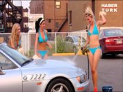 Bikinili araç yıkama servisi