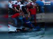 Sulama kanalına düşen araçta can pazarı