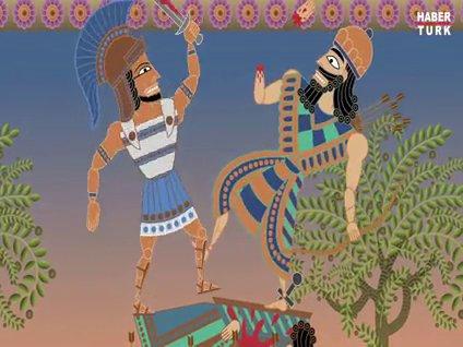 Kanlı Ortadoğu tarihi animasyon oldu