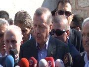 Erdoğan'dan bayram namazı sonrası açıklama