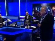 Ahmet Çakar bardak fırlatıp yayını terk etti
